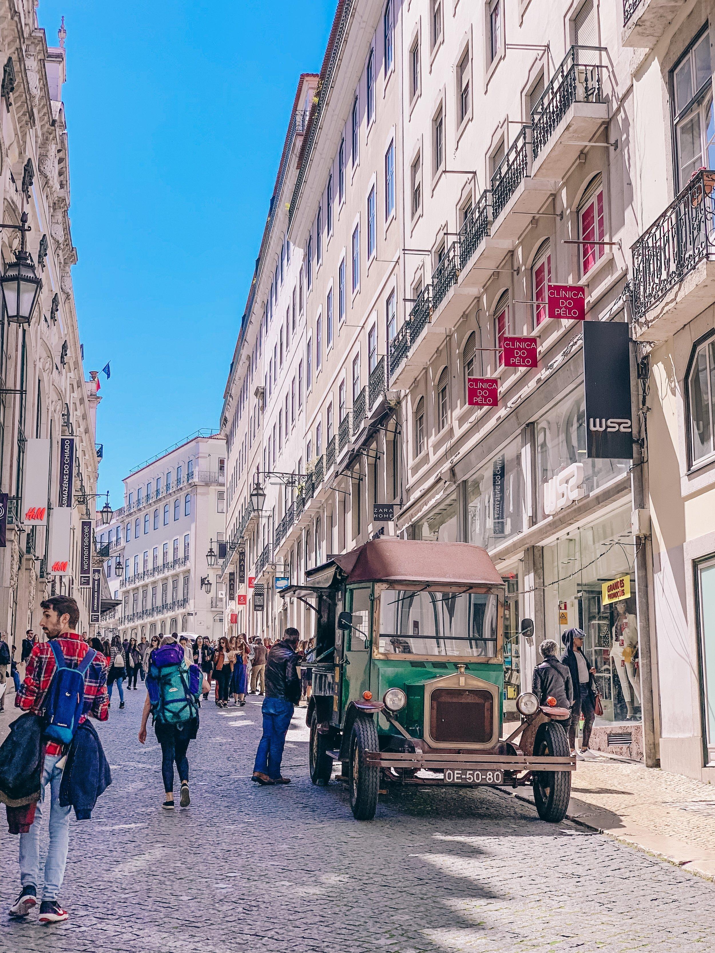 Baixa neighborhood, Lisbon