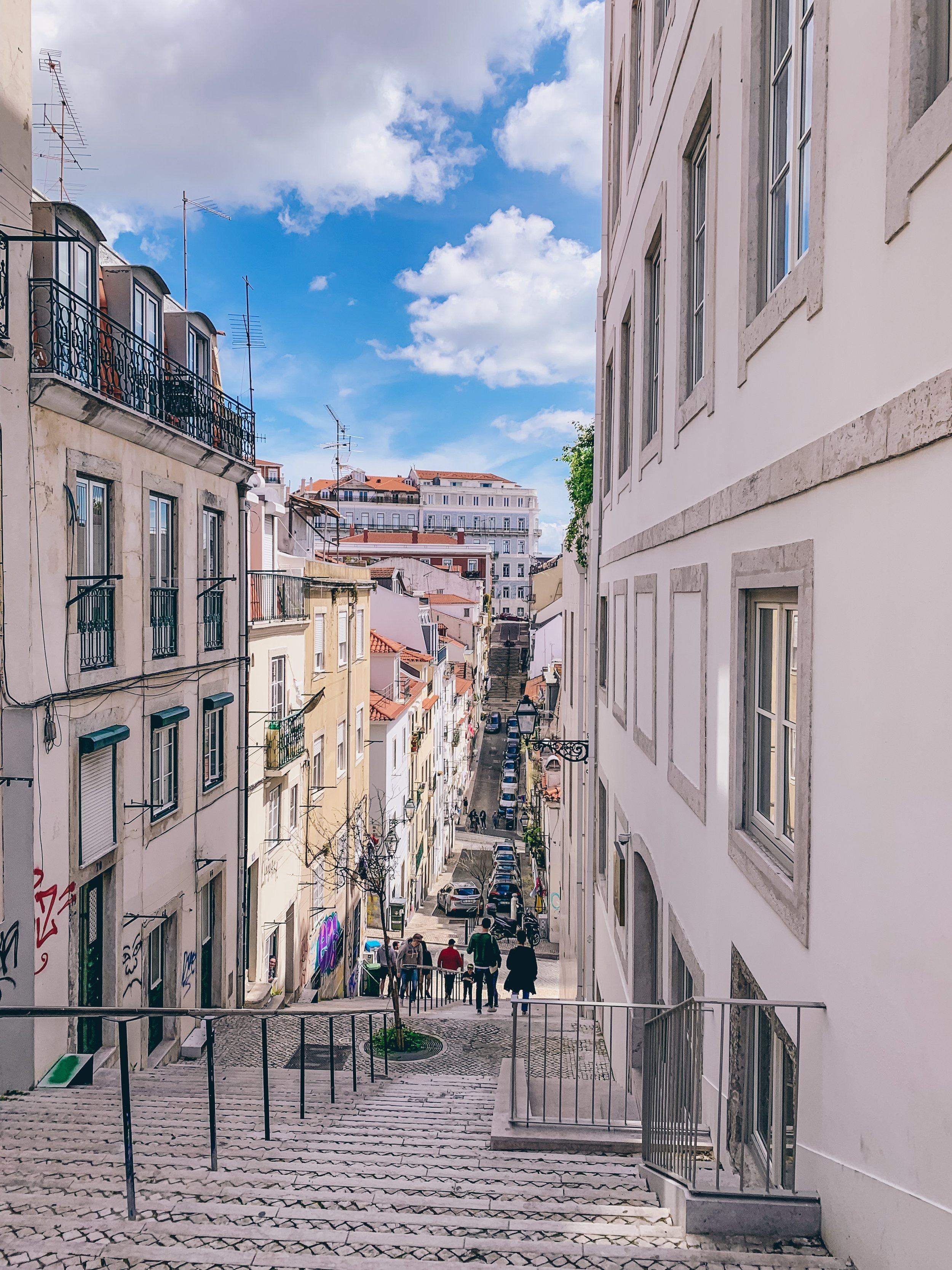 The streets of Lisbon