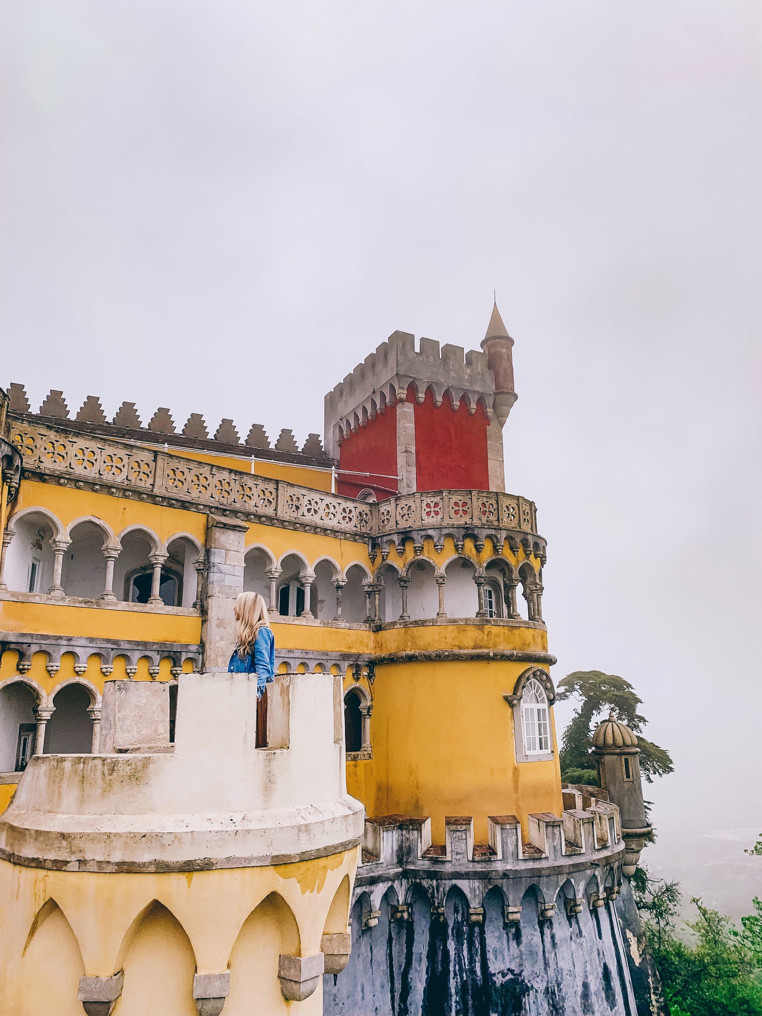 The beautiful Pena Palace