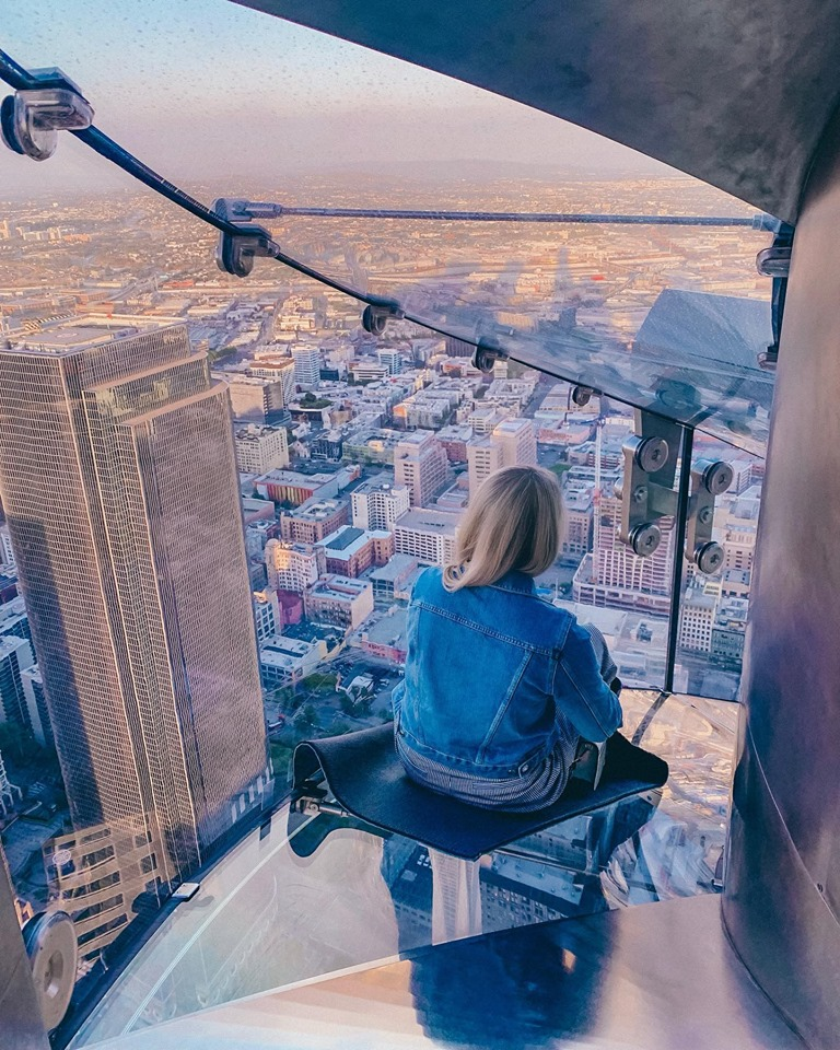 Skyslide at Skyspace LA
