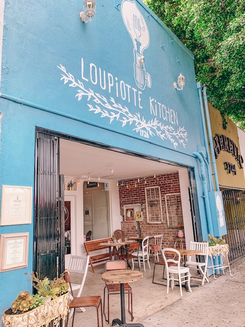 Loupiotte Kitchen in Los Feliz