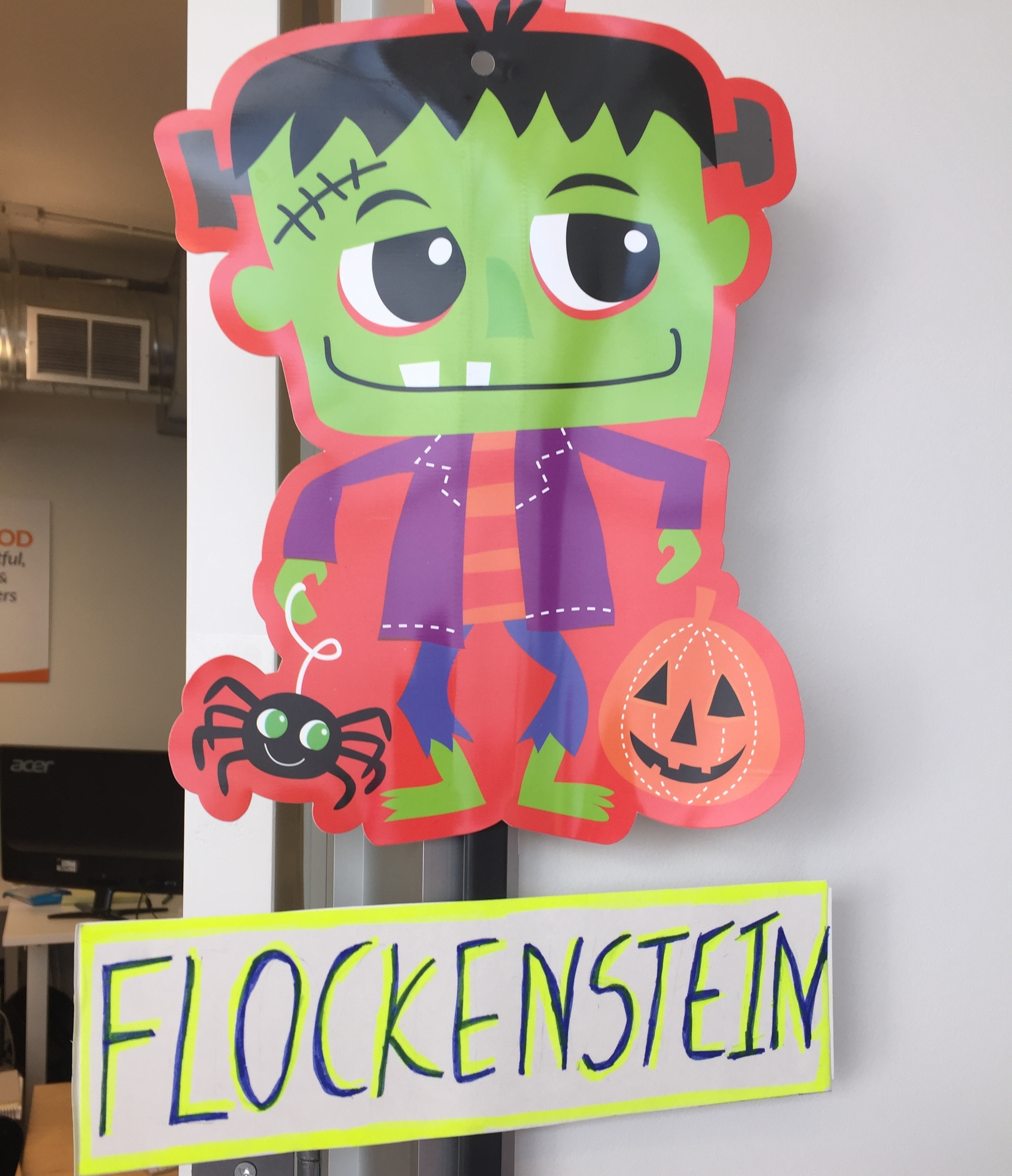 Our version of the Frankenstein