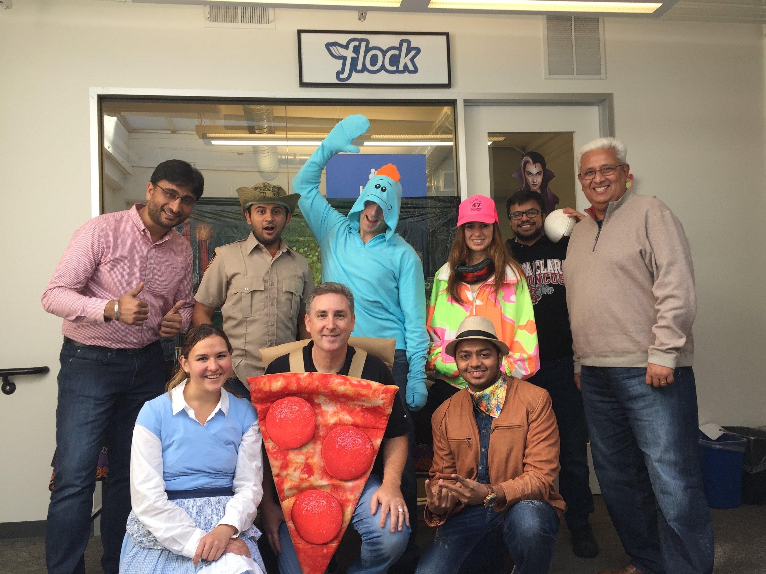 Celebrating Halloween at Flock!