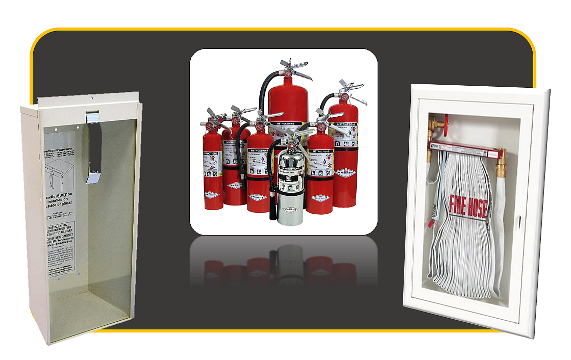 Fire Extinguisher/Cabinet/Hose Sales and Service