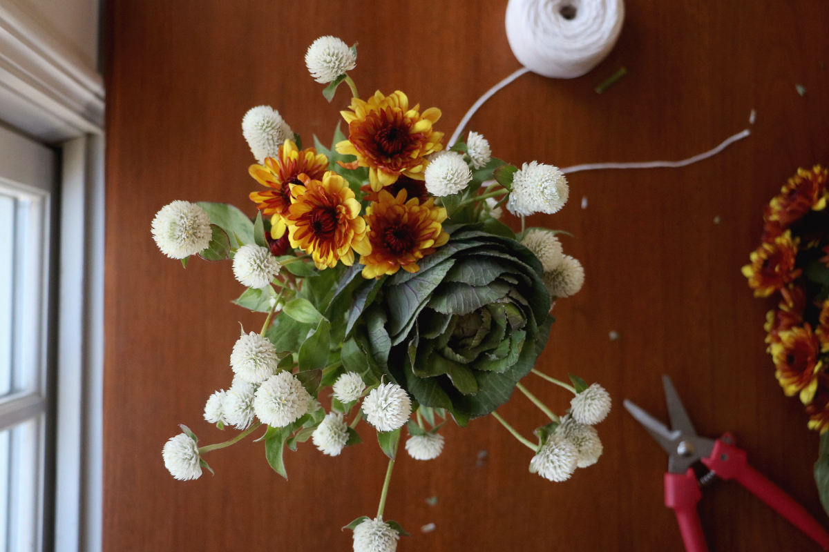kale bouquet | root + dwell
