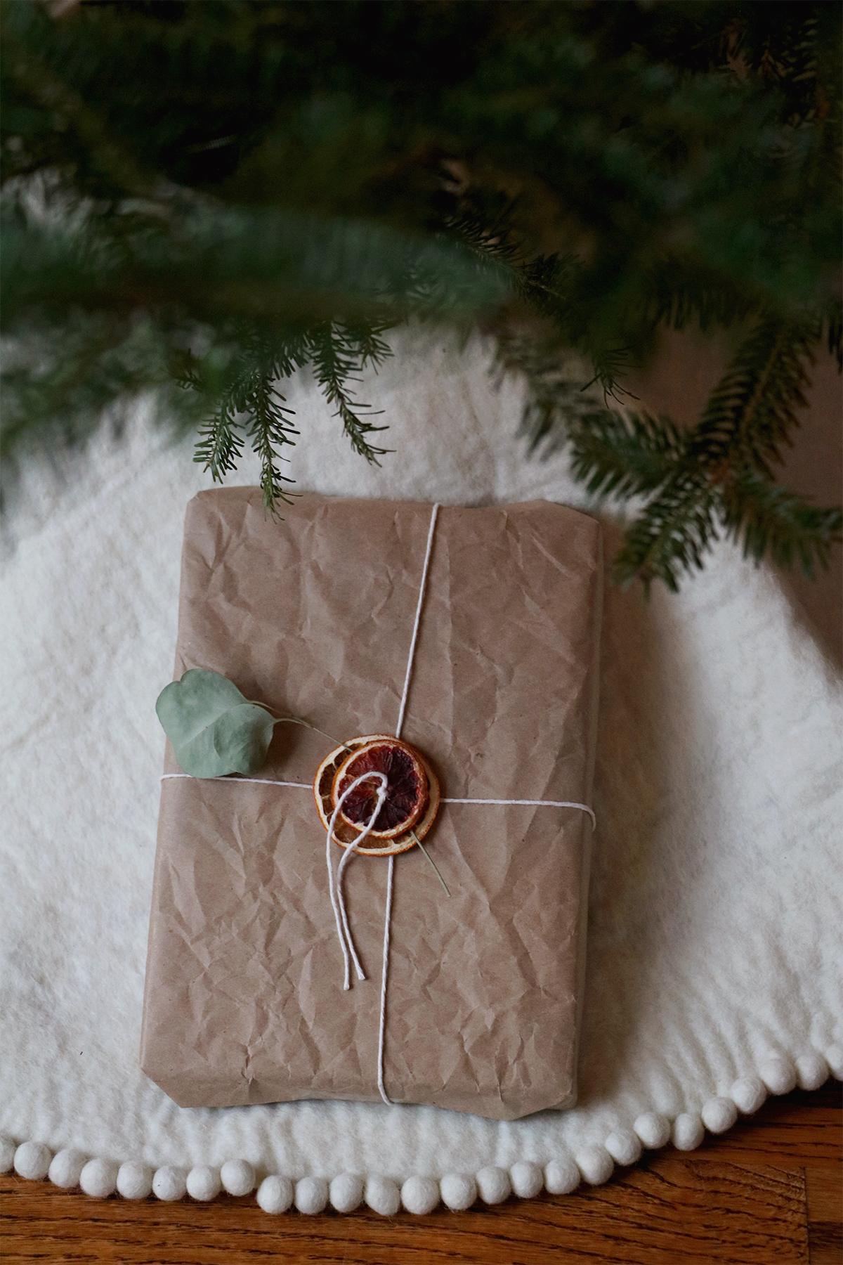 3 ways to style kraft paper for holiday wrapping | root + dwell