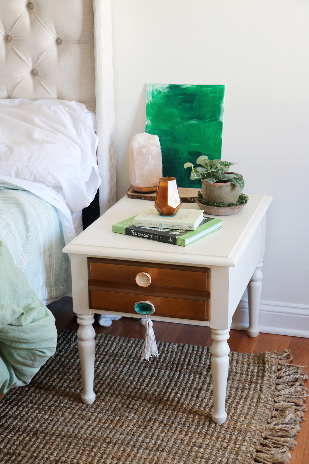 bedside tables furniture flip | root + dwell