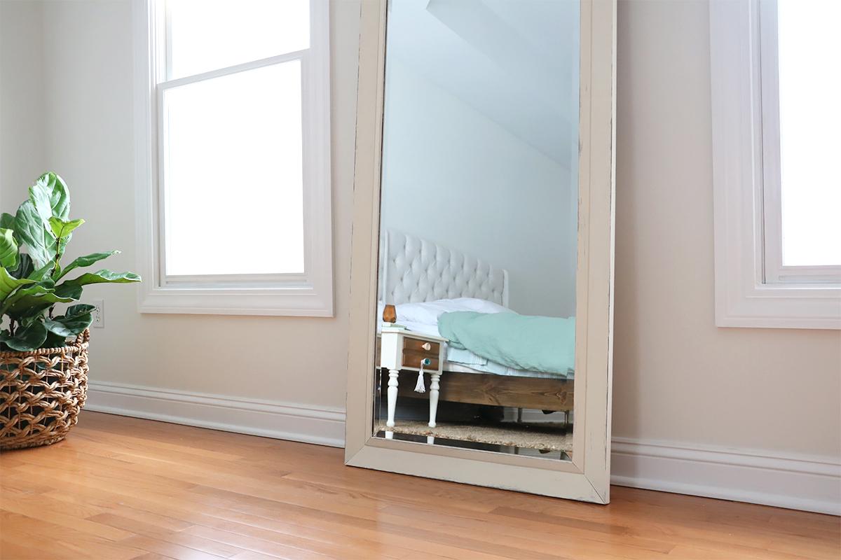 Full Length Mirror Flip | Paint + Distress | root + dwell