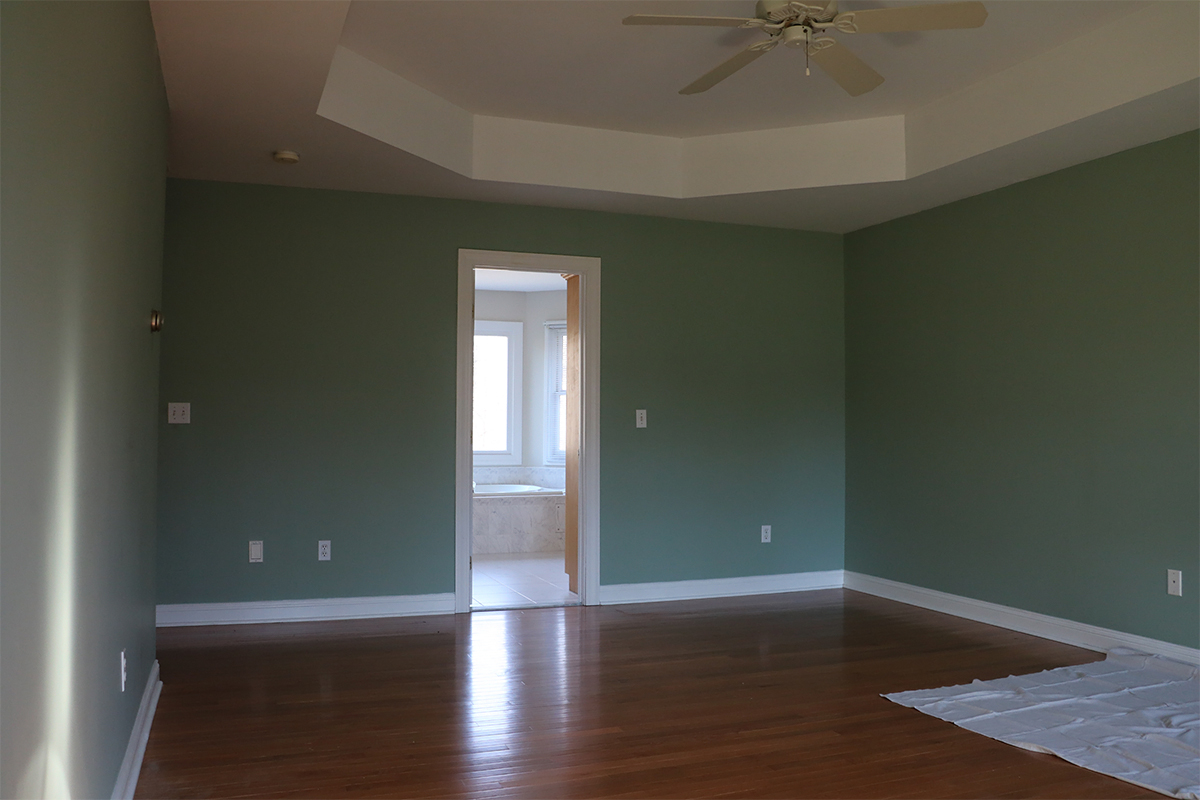 (before) master bedroom refresh reveal   root + dwell