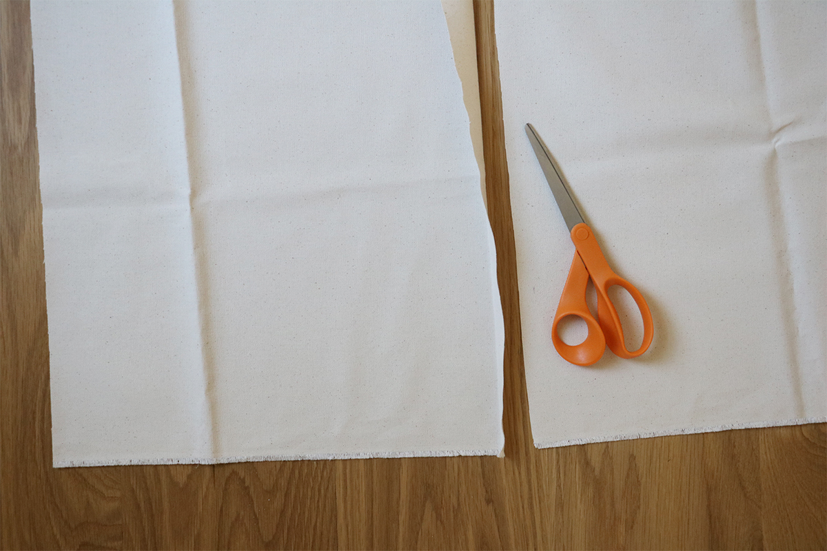 DIY canvas banner | root + dwell