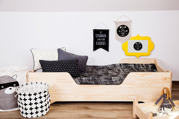 Baby/Toddler/Twin Bed Montessori Style