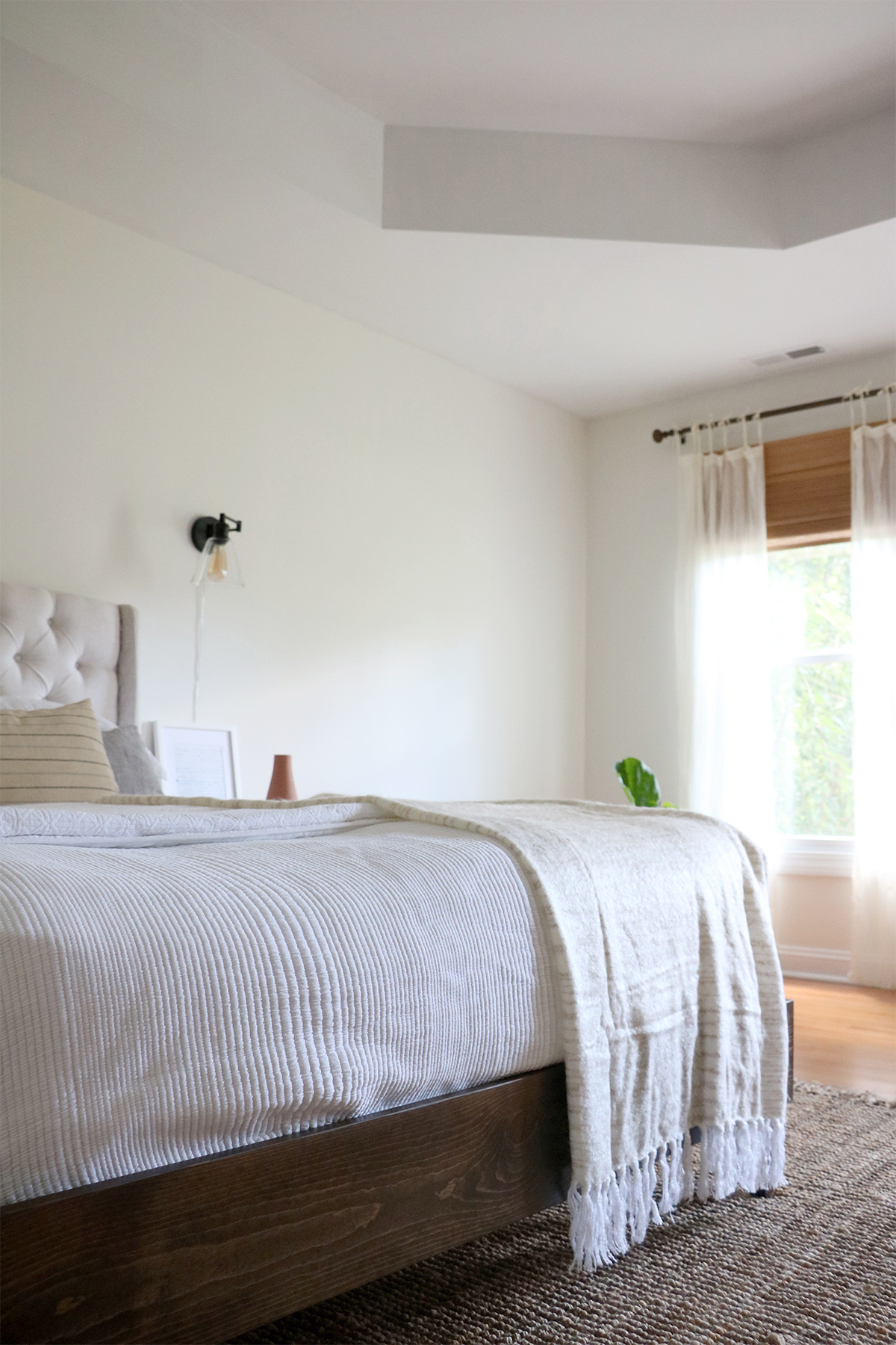 Small Updates to Our Master Bedroom | root + dwell