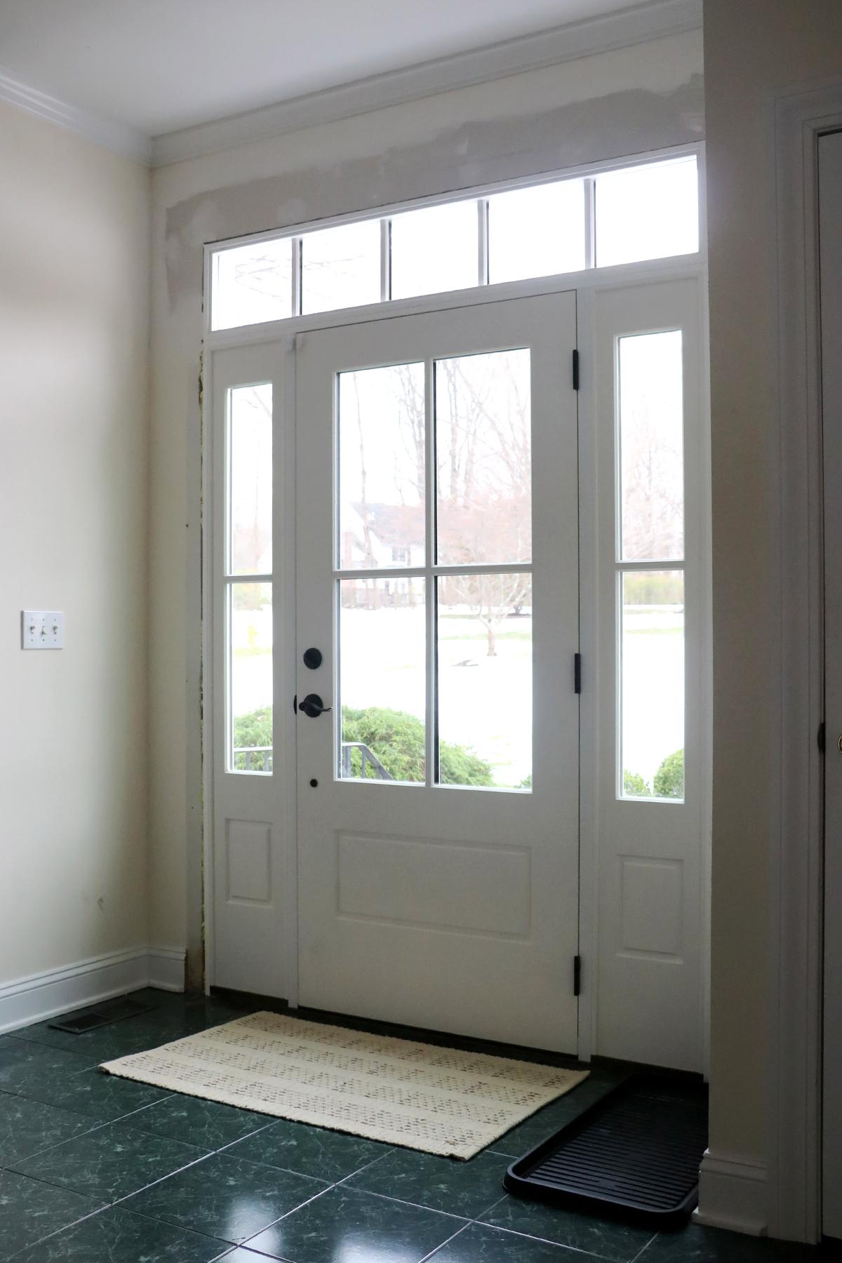 Our New Front Door Progress | root + dwell