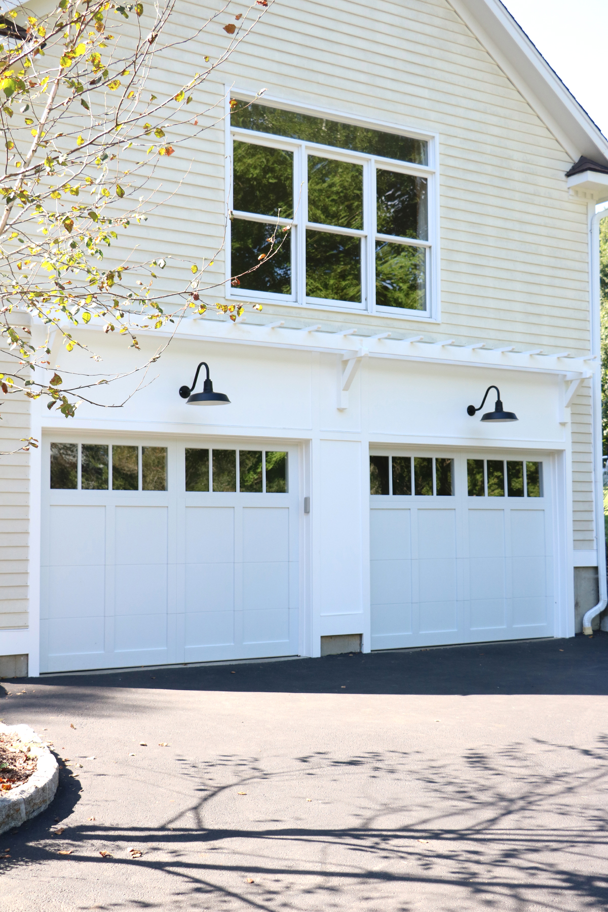 exterior garage makeover | root + dwell