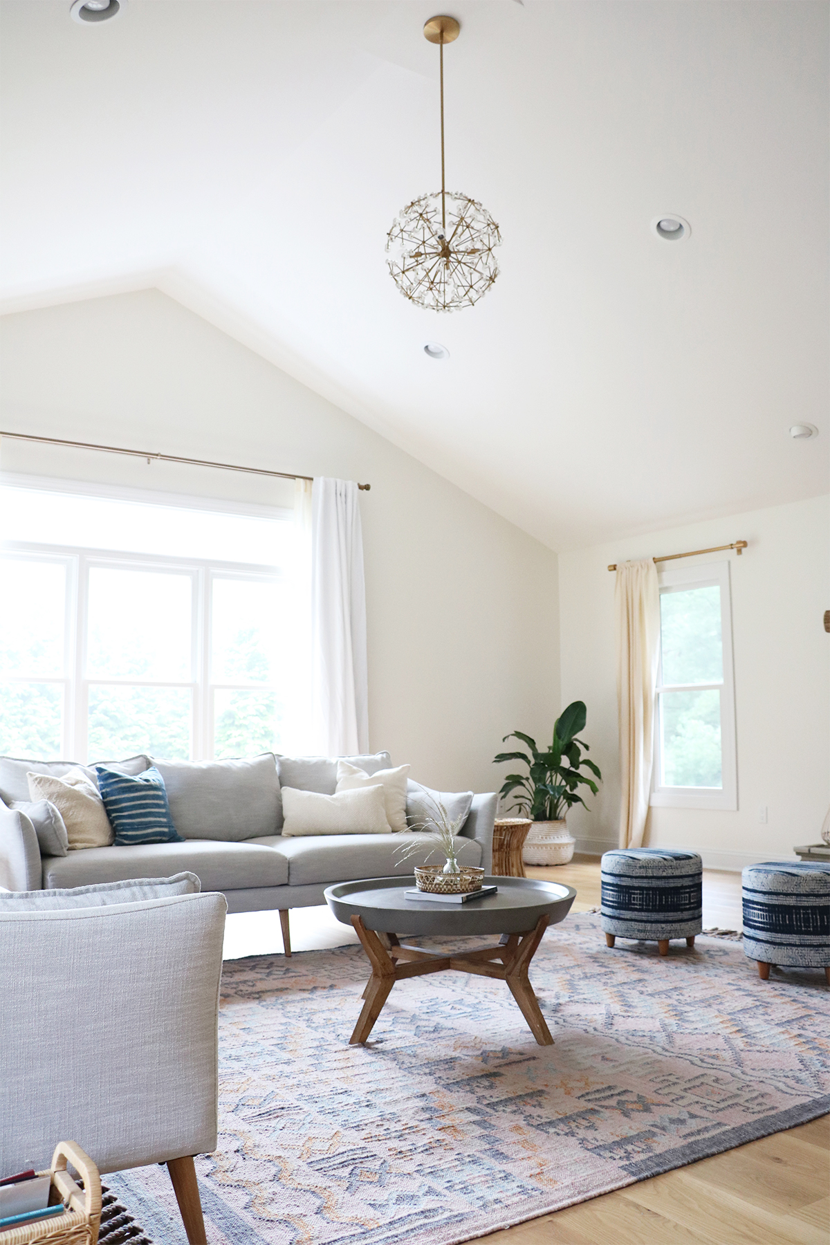 family room makeover | root + dwell