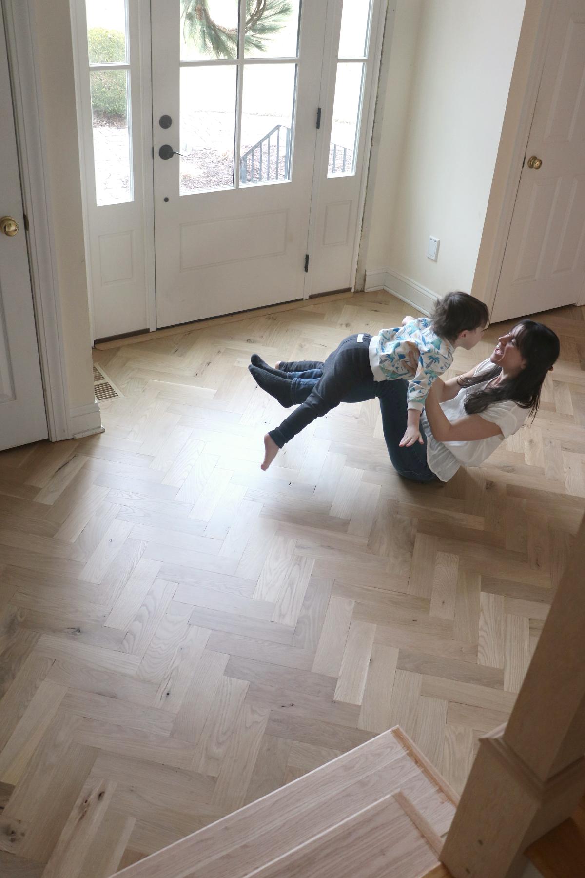 Entryway Renovation Update: Floors   root + dwell