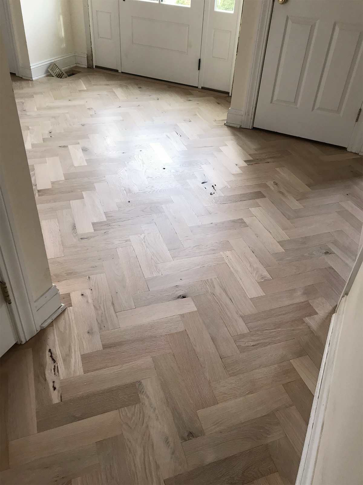 Entryway Renovation Update: Floors | root + dwell