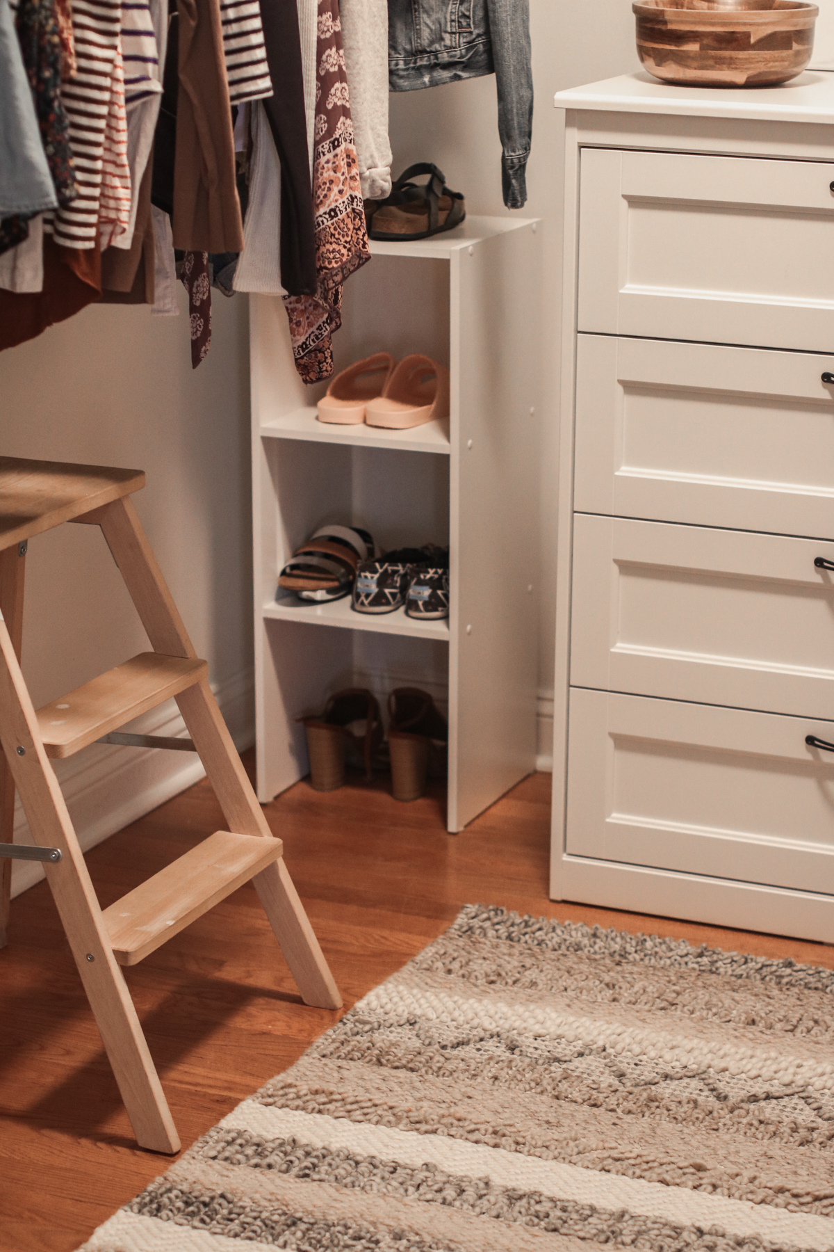 Master Bedroom Closet | Small Changes For a Big Change | root + dwell