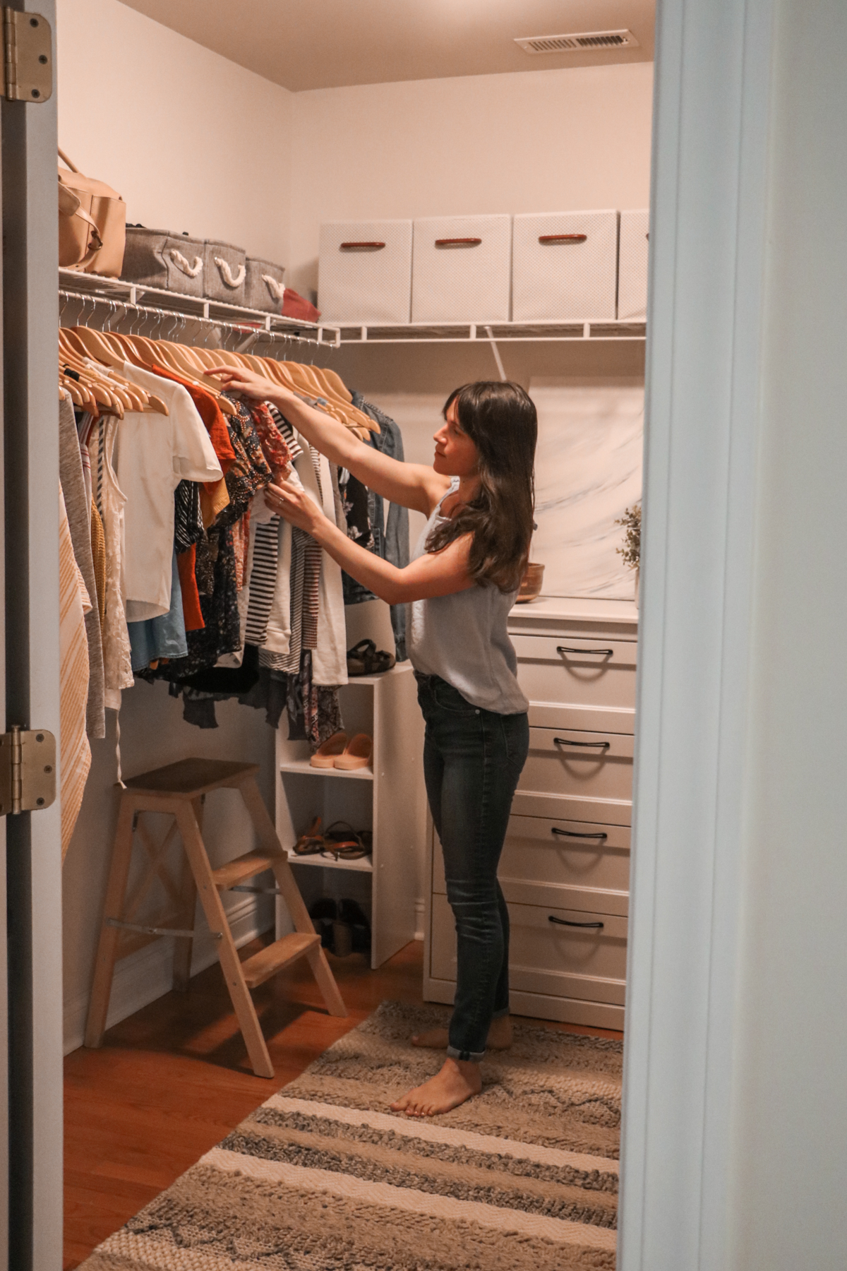 How I Did a Major Wardrobe Simplification in 5 Steps | root + dwell
