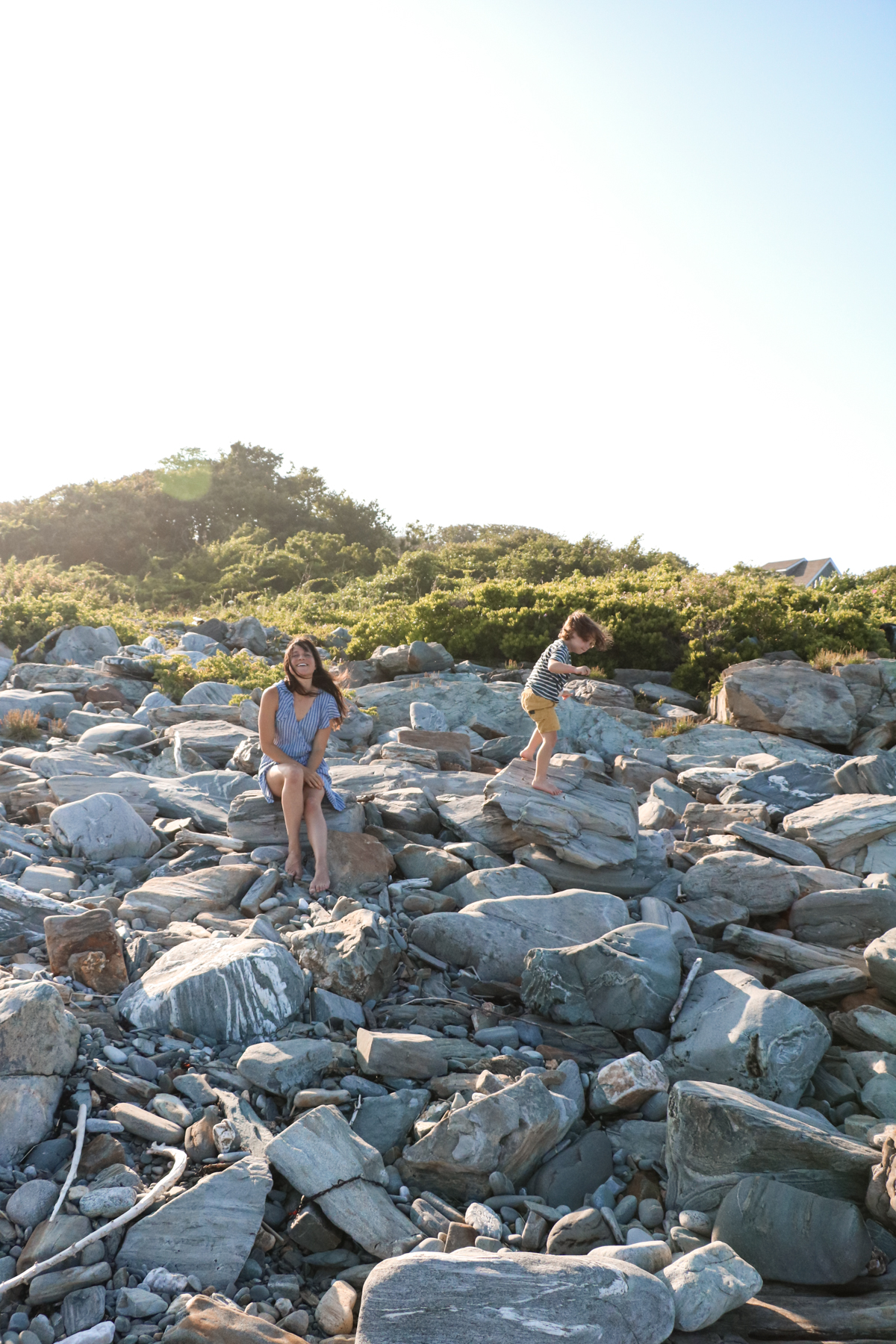 Exploring Peaks Island