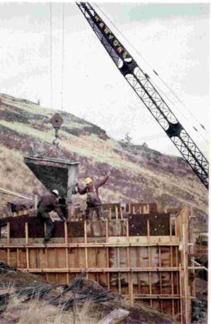 Pumphouse Construction