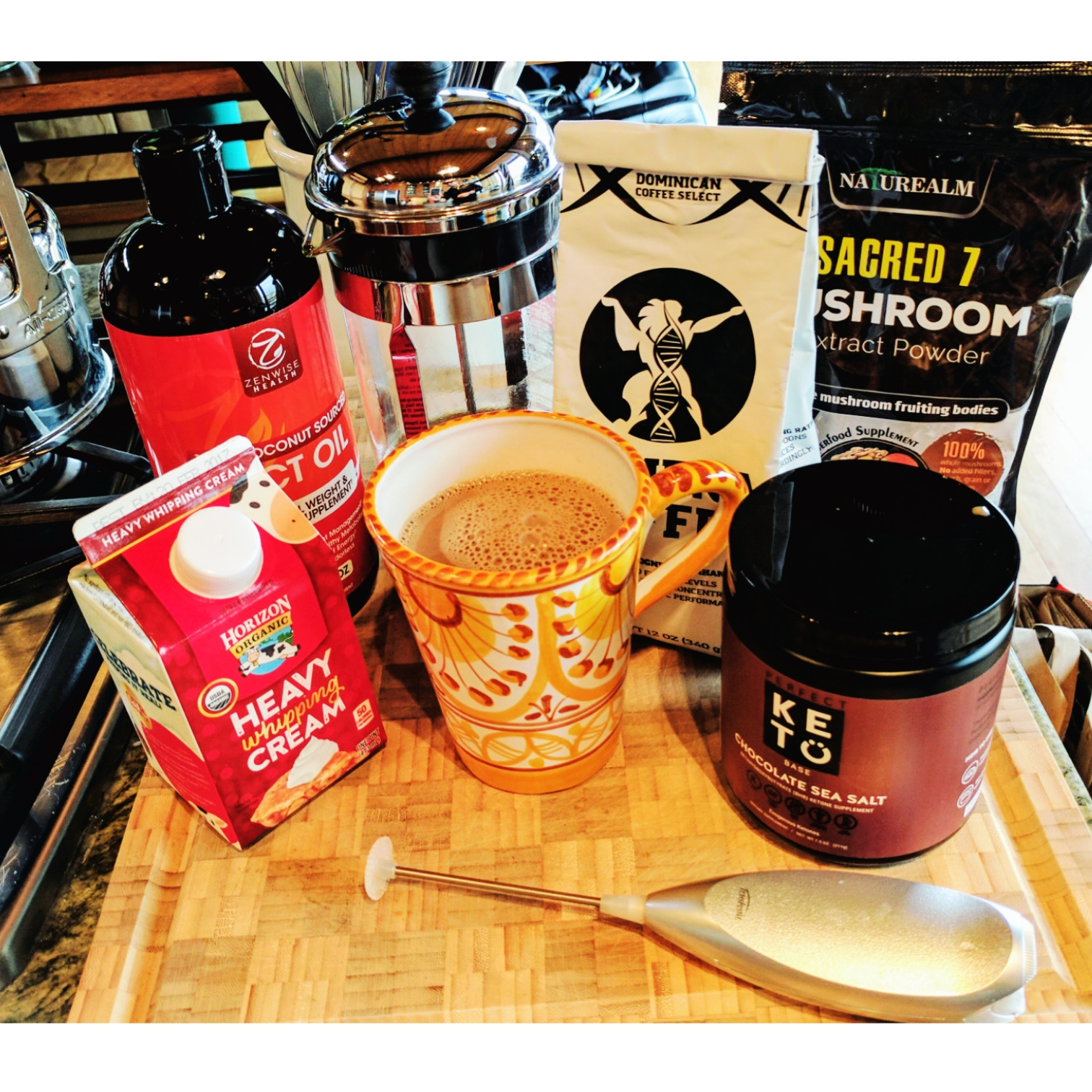 My Elevated Coffee with BHB & MCT Oils