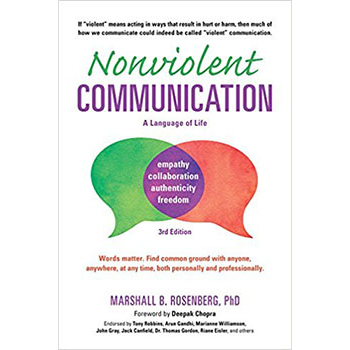 Marshall Rosenberg's groundbreaking book explores how we can shift our language from harmful to harmonious, encouraging empathy, compassion, and connection in all of our communication and relationships.   Learn more here