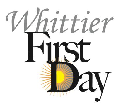 Whittier First Day Logo.jpg