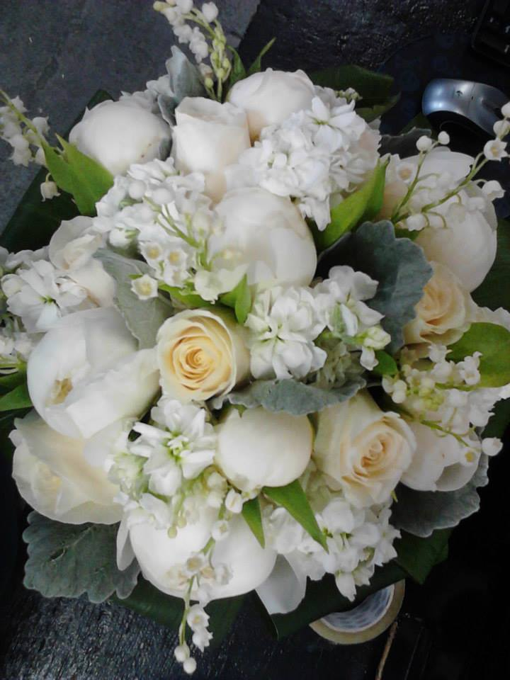 Wedding Bouquet - Classic White