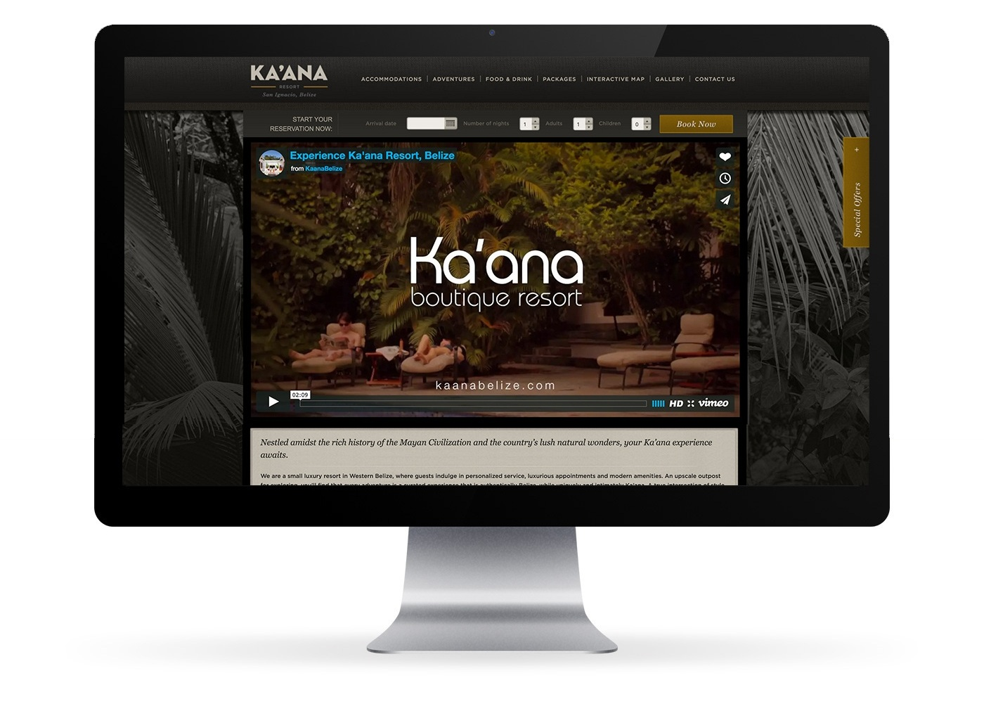 kaana_website_mock