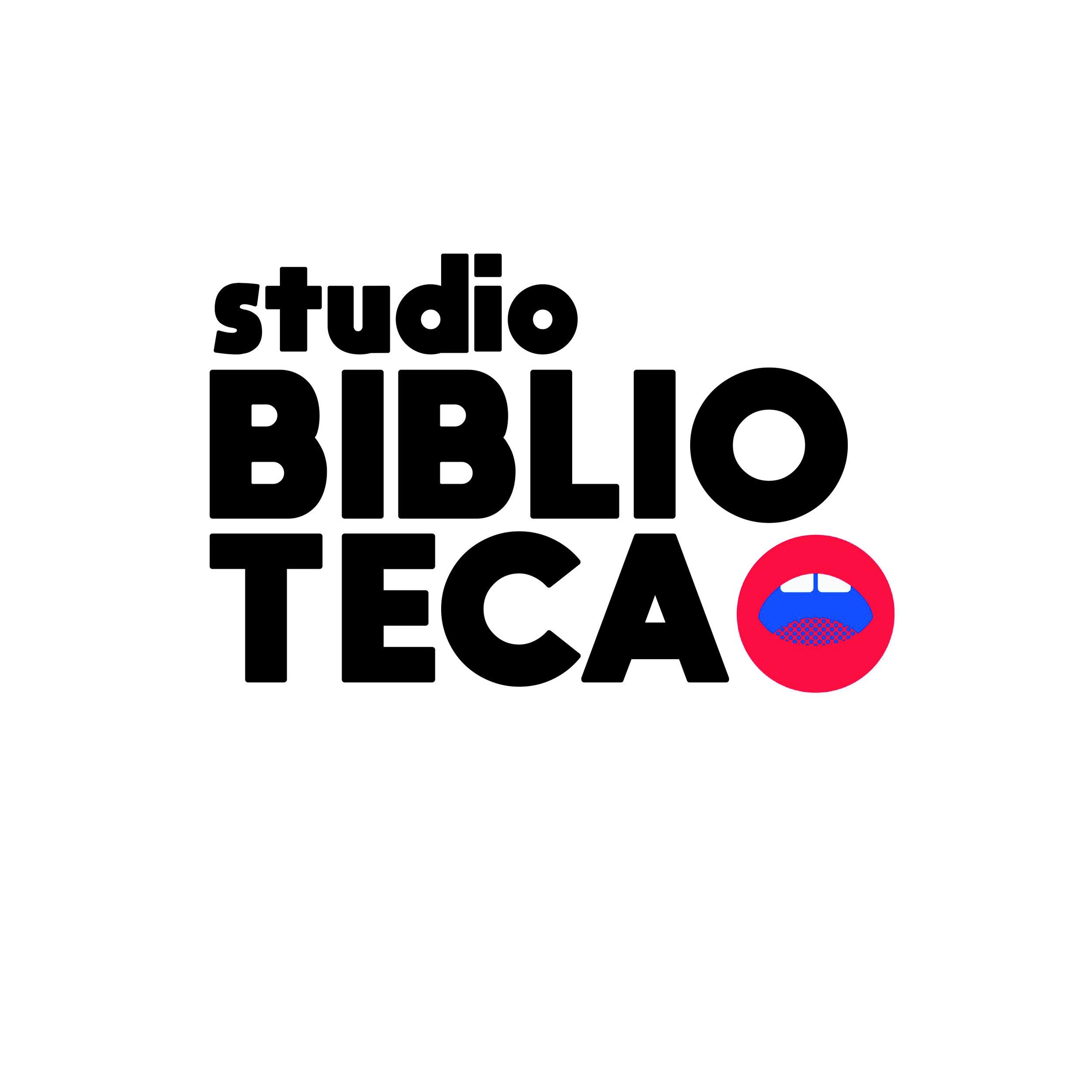 Studio Biblioteca Podcast identity