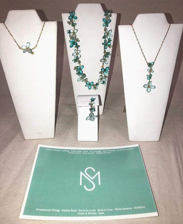 Flowers that never wilt. American made glass jewelry by @michaelvincentmichaud. #americanmadejewelry #stylemax #wholesale #shopsmall #mvm #boutique