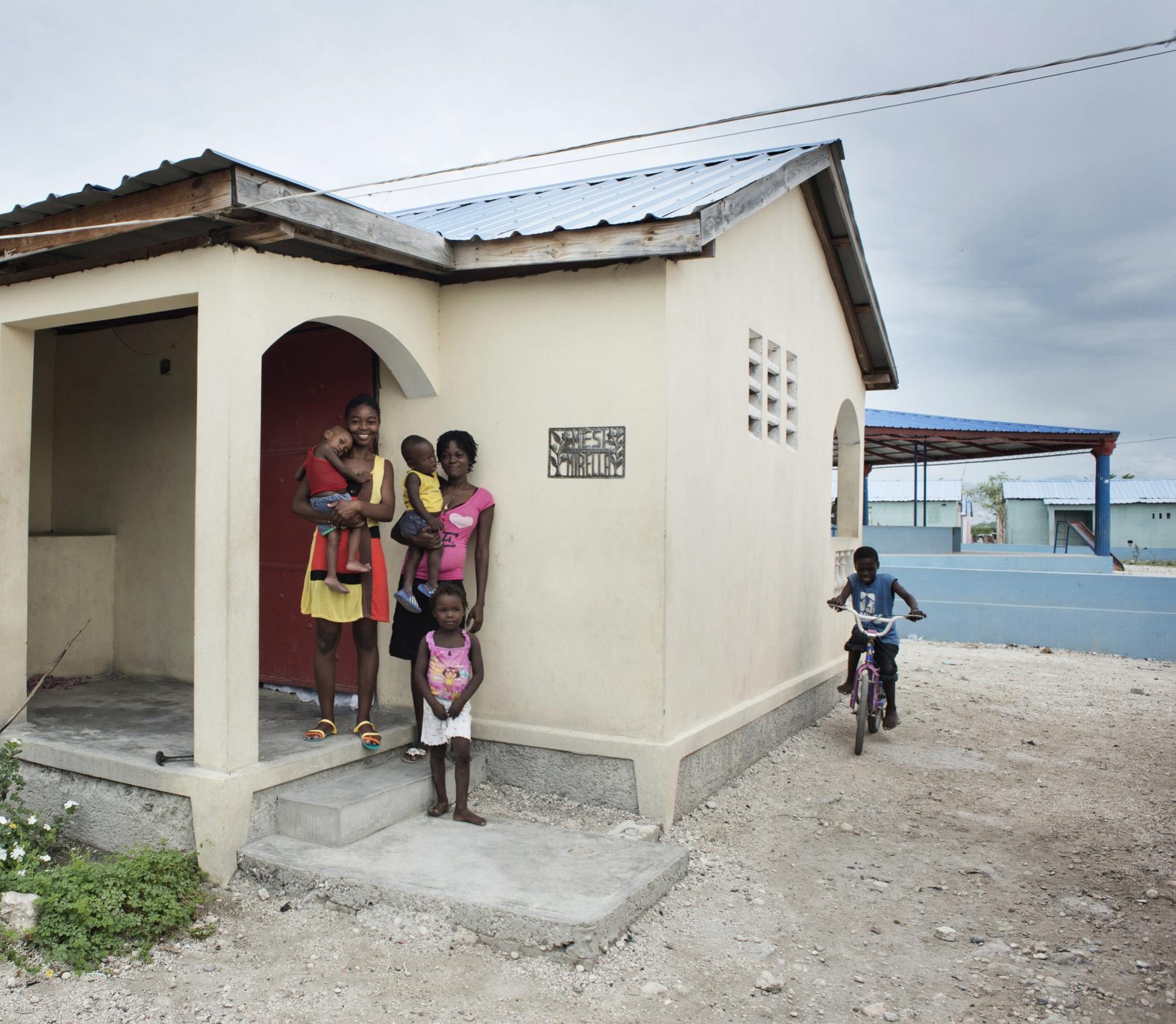 A home in Cite Soleil