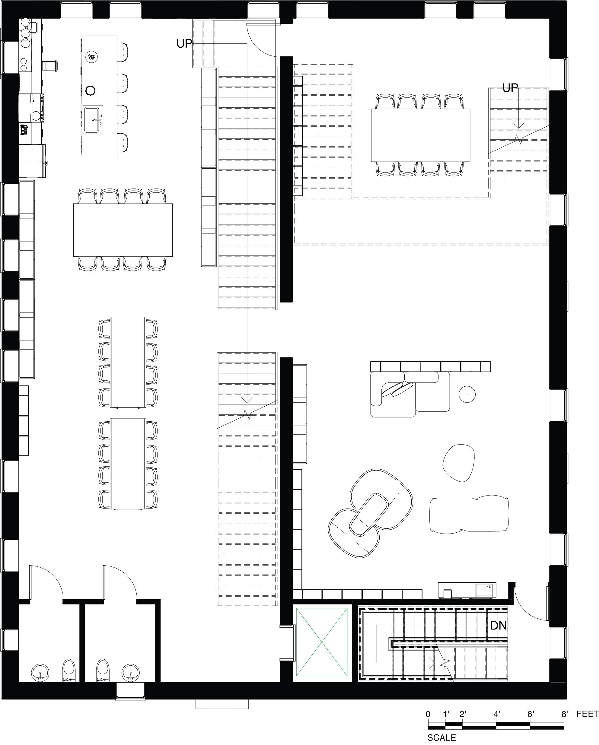 Level 02  Floor Plan - Community Gathering Space