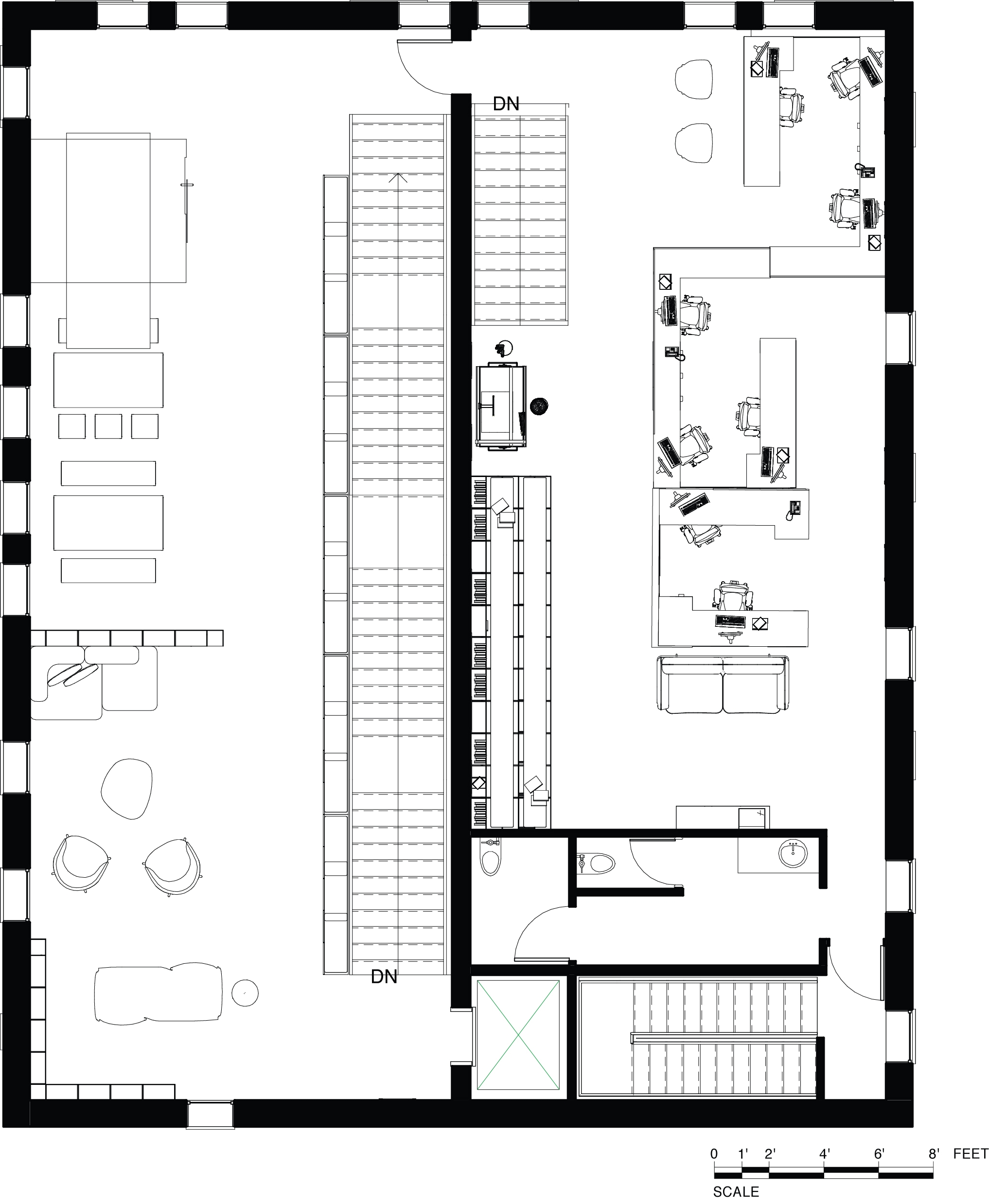 Level 03  Floor Plan - Social Impact Design Firm