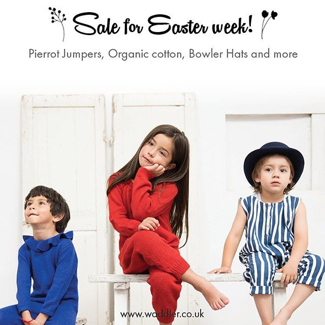 Sale starts today! #eastersale #sale #waddler #waddlerclothing