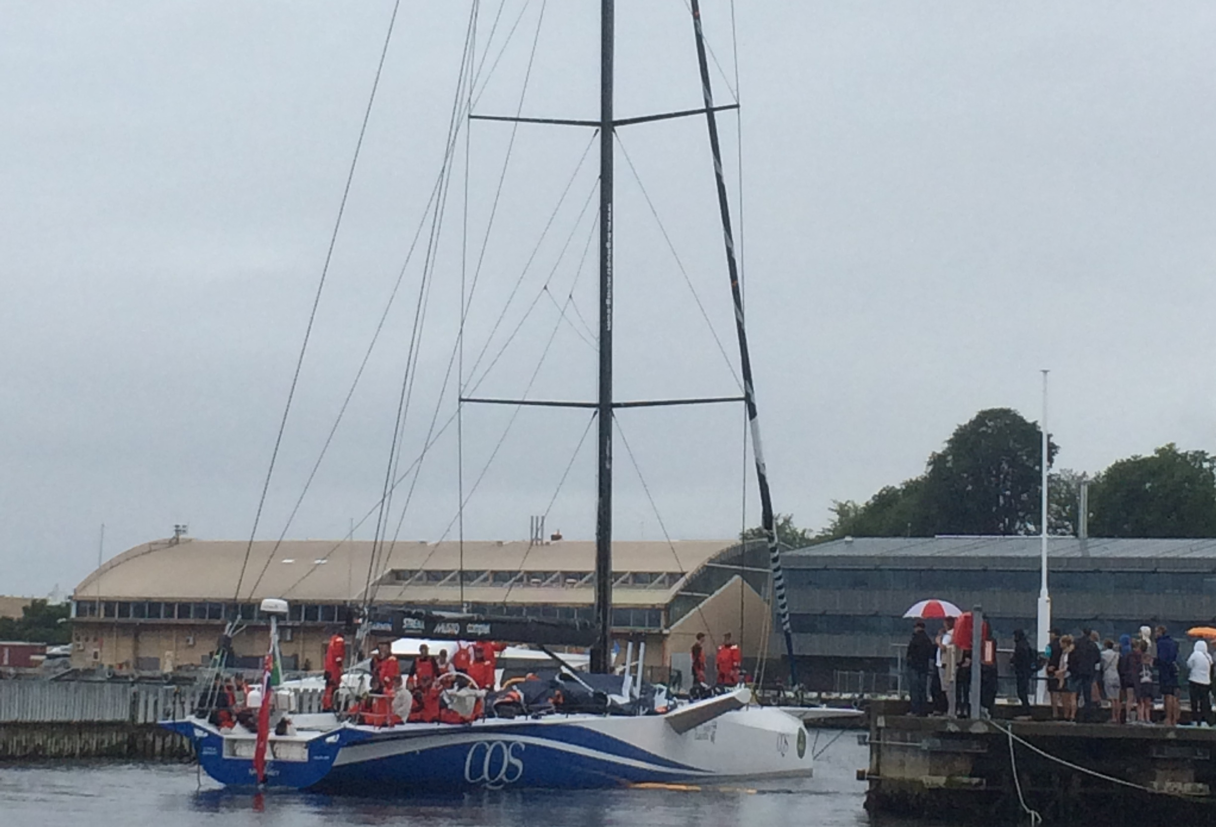 CQS finishes her first Sydney to Hobart
