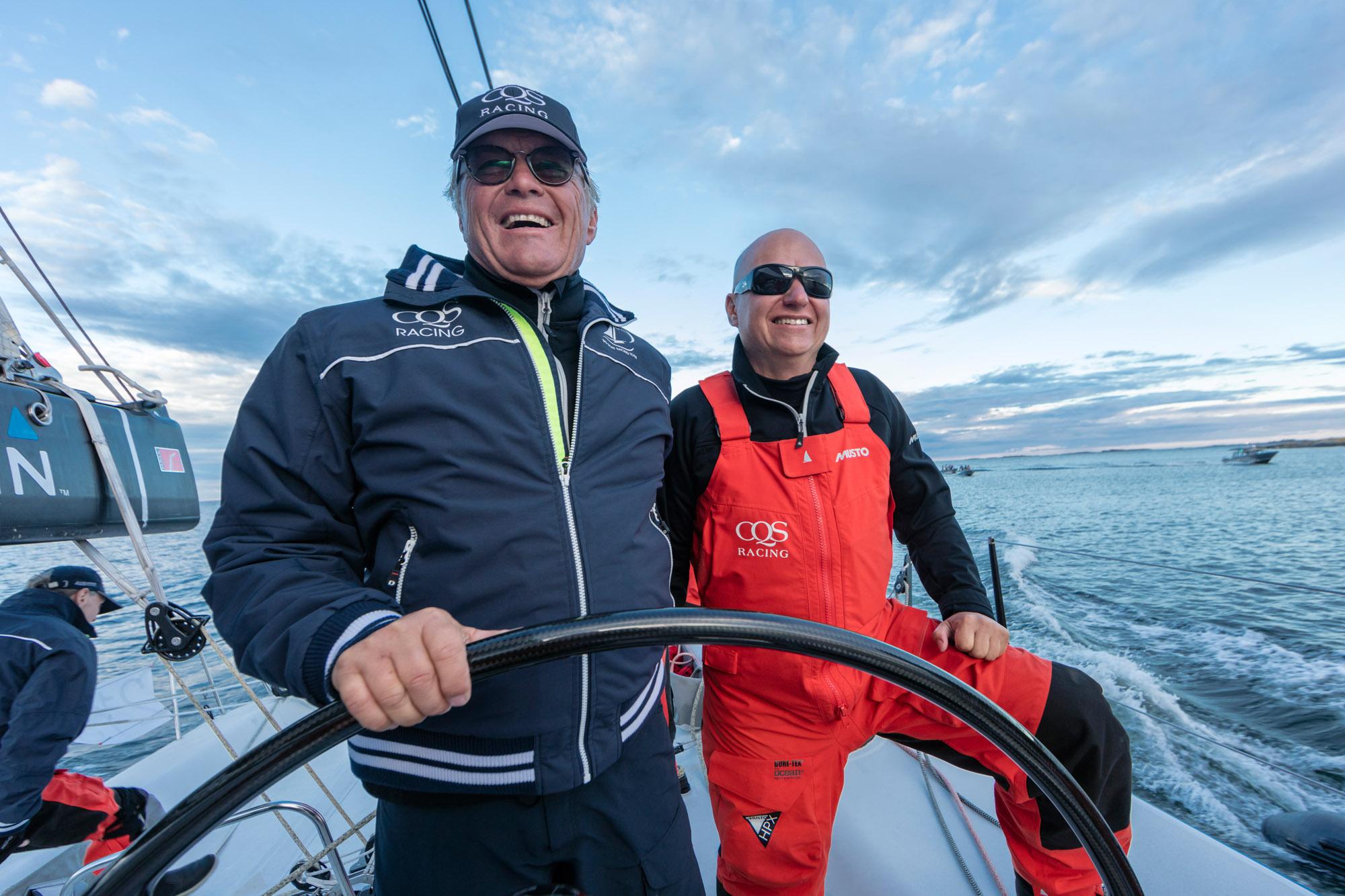 Skipper Ludde Ingvall during the ÅF Offshore Race: Stockholm, Sweden