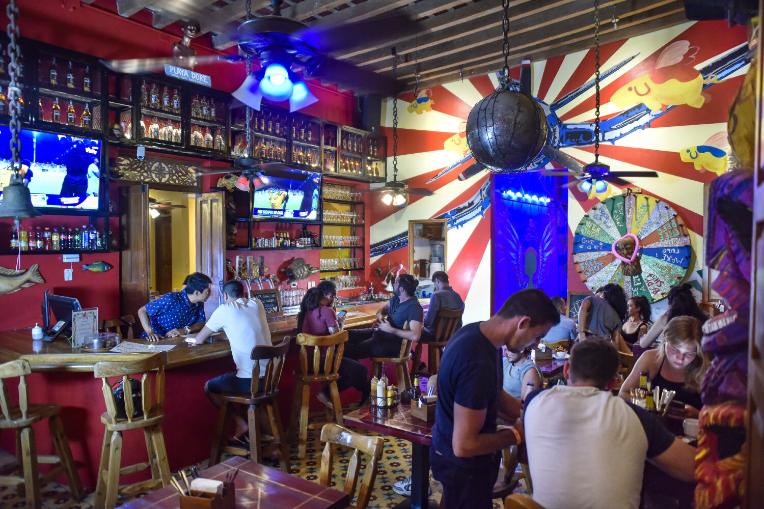 Rum Junkies Bar in Santa Marta at La Brisa Loca.jpg