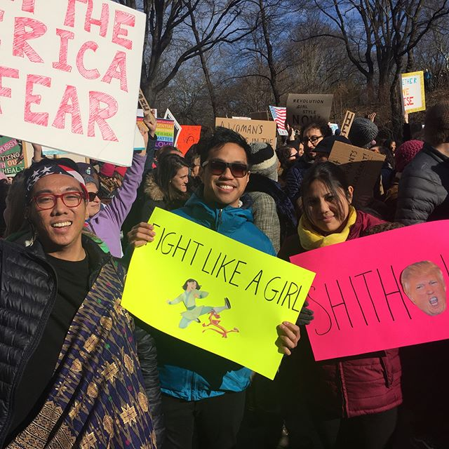 Our members repping at the Women's Marches in NYC and Chicago (+ some scenes from the streets)! #womensmarch