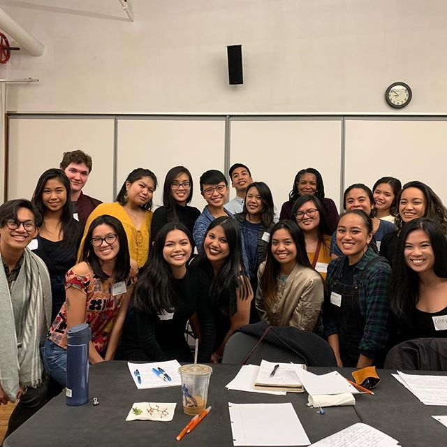 "Thank you to @sarahgambito for joining us last night for our #FAHM event - ""Healing Through Dialogue: Love Abounding"" and telling your story while helping us tell our stories. Thank you to @aaartsalliance for hosting our event, our program organizers Trina and Isabel, and our attendees for coming together in this space."