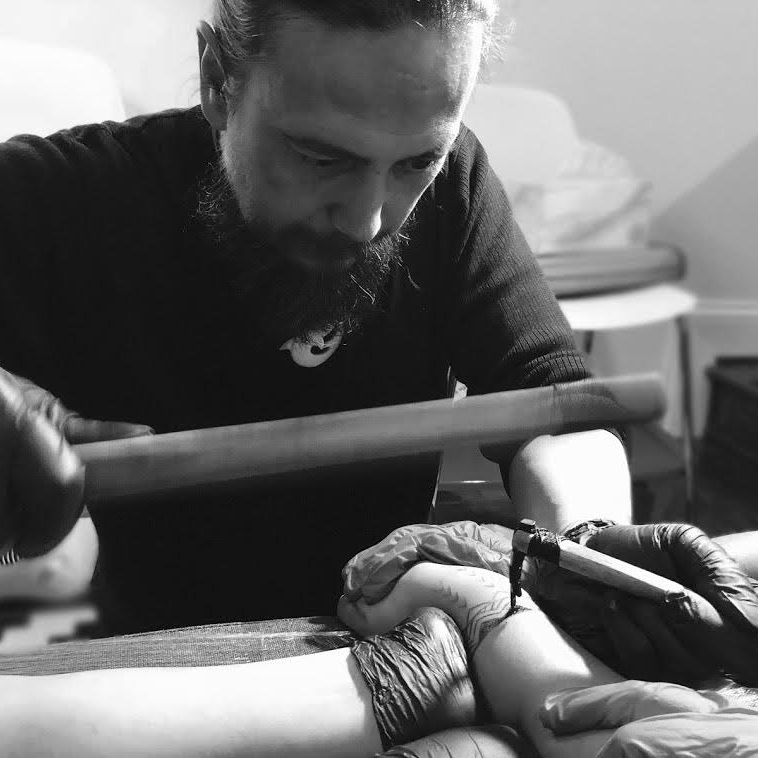 LANE WILCKEN - is a scholar, cultural tattoo practitioner and advocate for the the critically endangered practice of