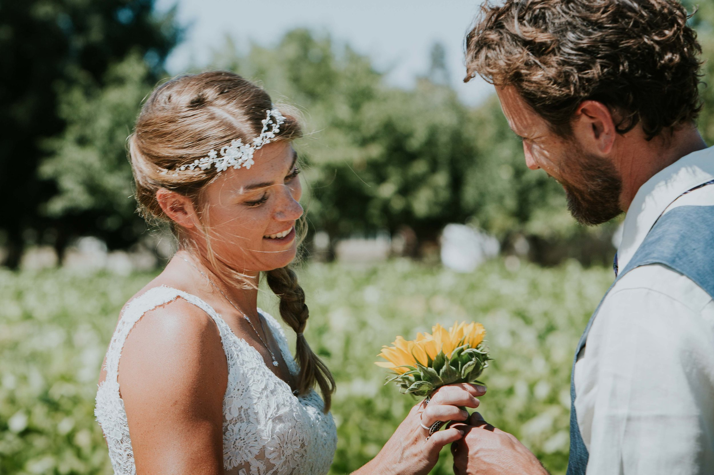 Portland Intimate Elopement Photographers Sunflower-1.jpg