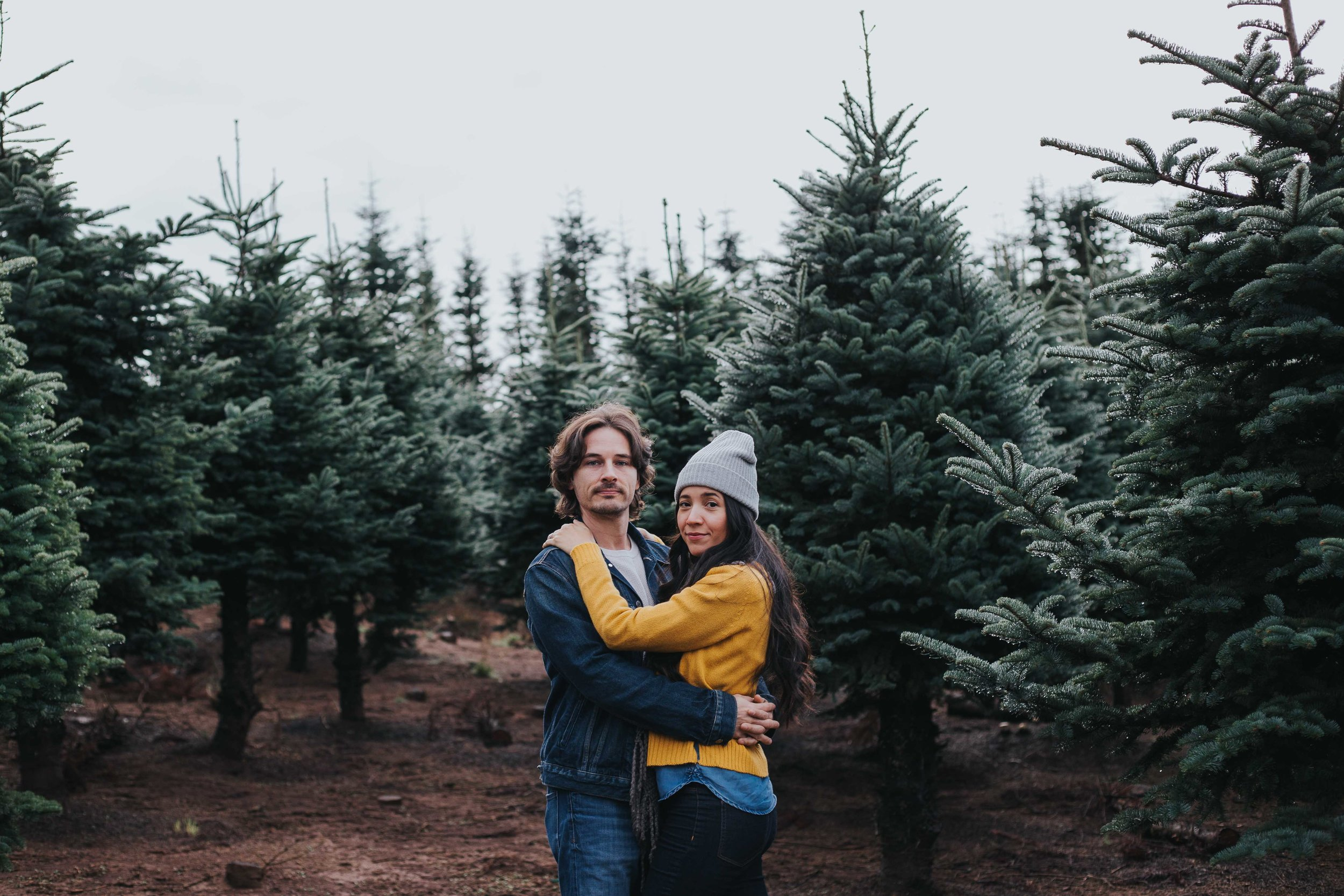 Christmas Tree Farm Engagement Photographers Photography-1.jpg