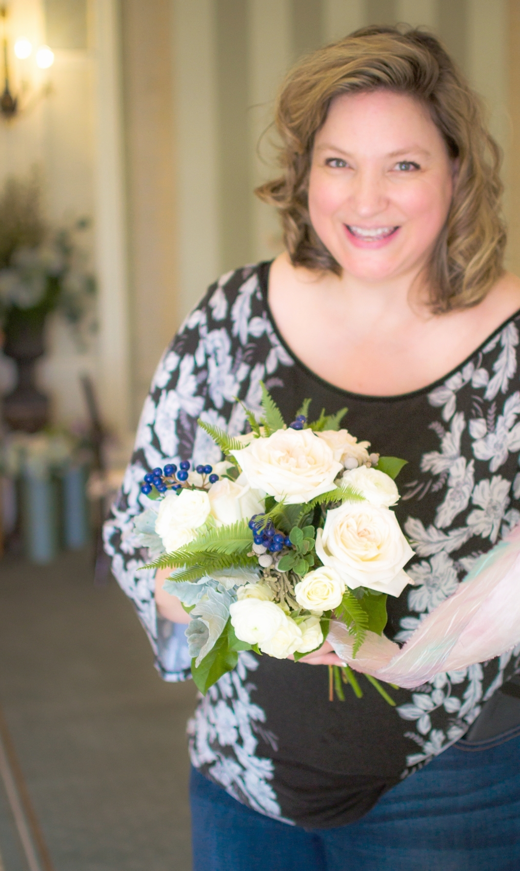 Flower Love - Creating sample bouquets are one of the many services we enjoy when guiding our brides through the design process.