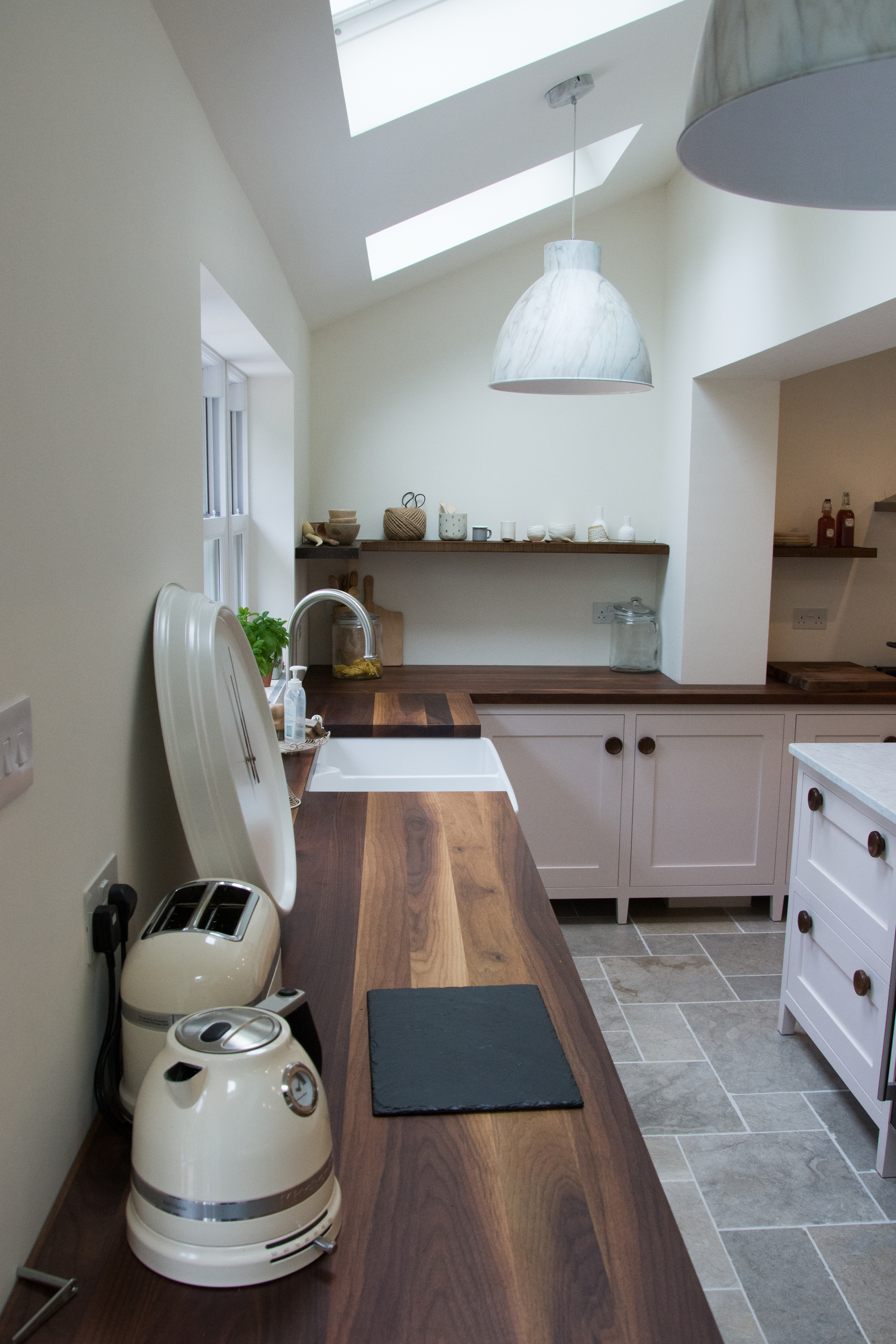 Handmade freestanding kitchen
