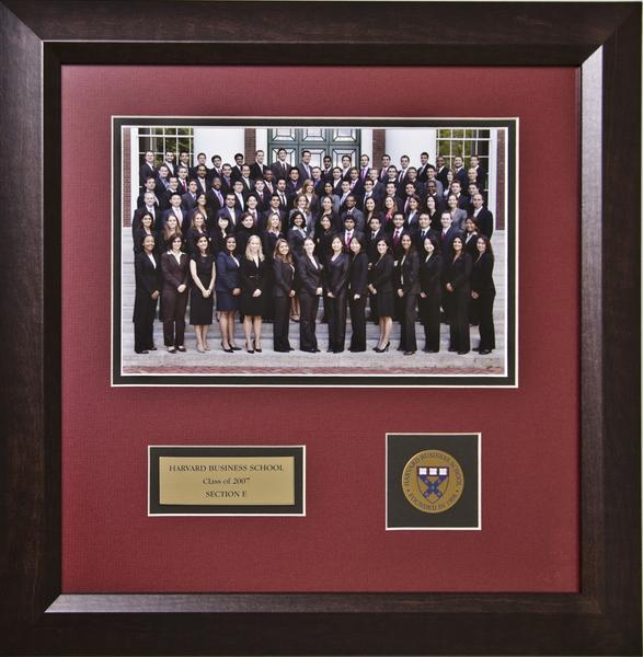 Framed Section Plaque
