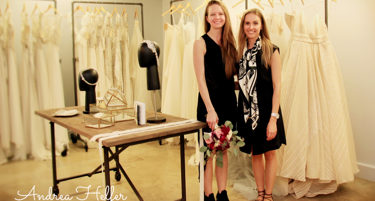 Carol Hannah  (left)  with boutique owner Martina Mikova.