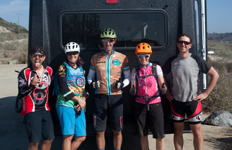 We had a great time on the Coast to Crest Trail with this crew!