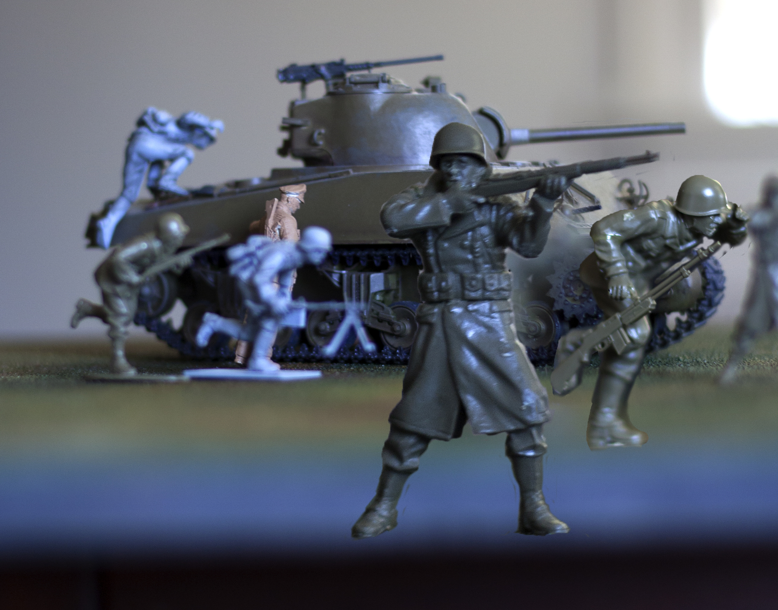 Maquette, Victory in Europe